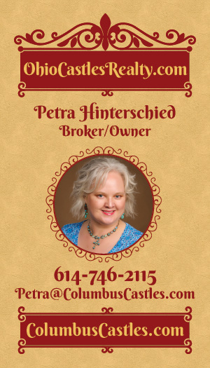 CONTACT Petra Hinterschied, REALTOR/Broker/Owner of Ohio Castles Realty